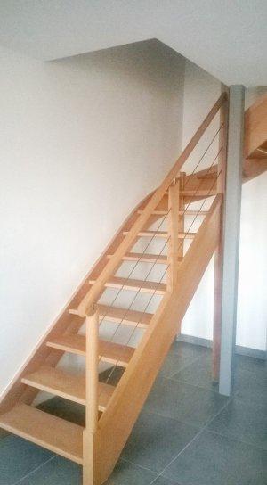 Pose d'escaliers